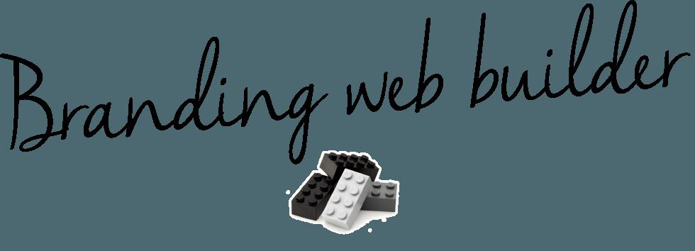 Branding web builder