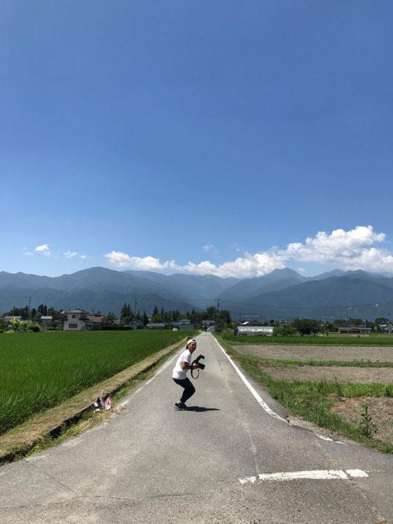 長野県安曇野市で撮影でした