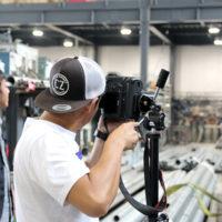 二日連続で工場の撮影